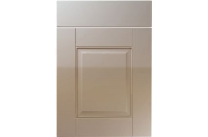 Unique Coniston High Gloss Stone Grey kitchen door