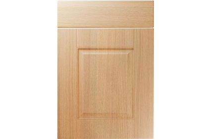 Unique Coniston Light Ferrara Oak kitchen door