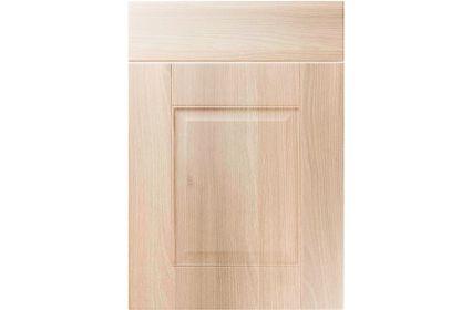 Unique Coniston Moldau Acacia kitchen door