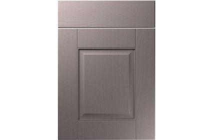 Unique Coniston Painted Oak Dust Grey kitchen door