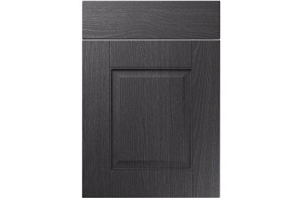 Unique Coniston Painted Oak Graphite kitchen door