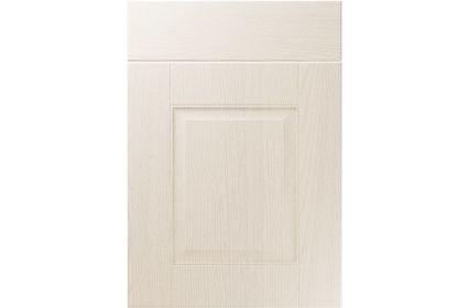Unique Coniston Painted Oak Ivory kitchen door