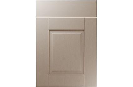 Unique Coniston Painted Oak Stone Grey kitchen door
