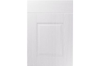 Unique Coniston Painted Oak White kitchen door