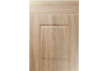 Unique Coniston Sonoma Oak kitchen door