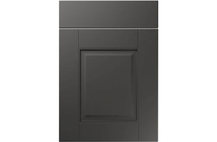 Unique Coniston Super Matt Graphite kitchen door
