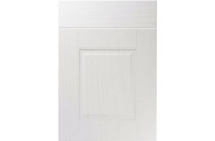Unique Coniston Super White Ash kitchen door
