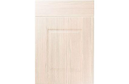 Unique Coniston White Avola kitchen door