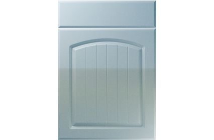 Unique Cottage High Gloss Blue Sparkle kitchen door