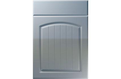 Unique Cottage High Gloss Denim kitchen door