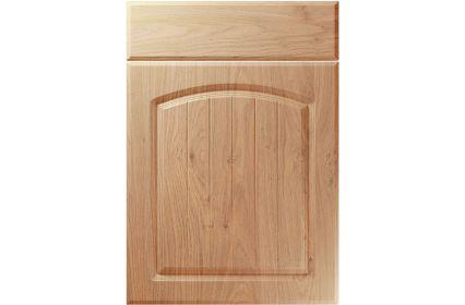 Unique Cottage Light Winchester Oak kitchen door