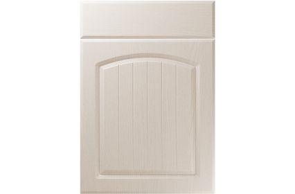 Unique Cottage Painted Oak Cashmere kitchen door