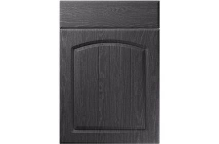 Unique Cottage Painted Oak Graphite kitchen door