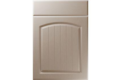 Unique Cottage Painted Oak Stone Grey kitchen door