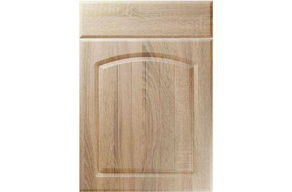 Unique Cottage Sonoma Oak kitchen door