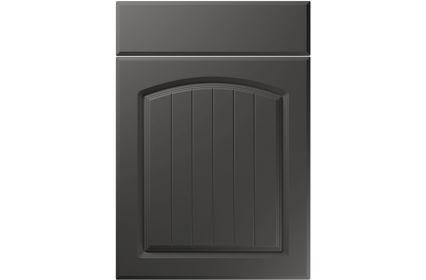 Unique Cottage Super Matt Graphite kitchen door