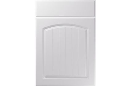 Unique Cottage Super Matt Light Grey kitchen door