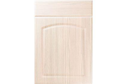 Unique Cottage White Avola kitchen door