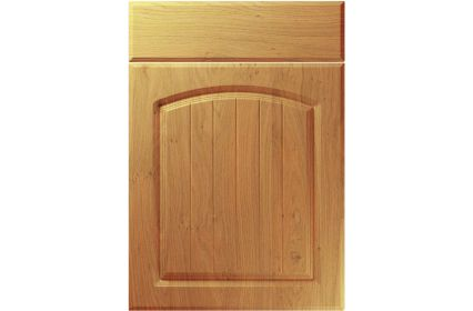 Unique Cottage Winchester Oak kitchen door