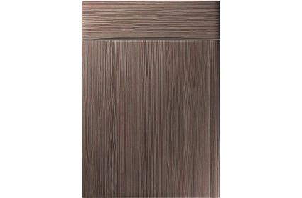 Unique Crossland Brown Grey Avola kitchen door