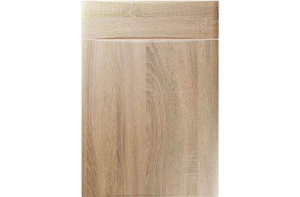 Unique Crossland Sonoma Oak kitchen door