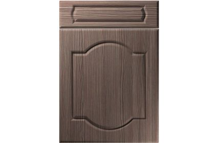 Unique Denham Brown Grey Avola kitchen door