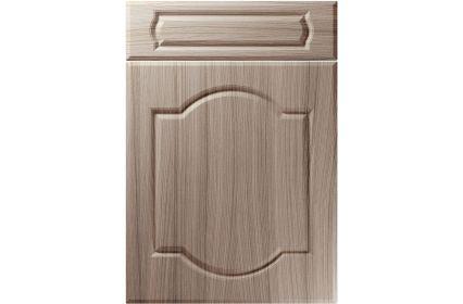 Unique Denham Driftwood kitchen door