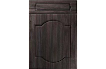 Unique Denham Hacienda Black kitchen door