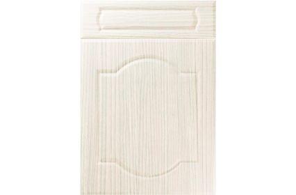 Unique Denham Hacienda White kitchen door