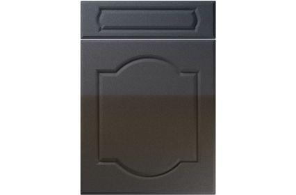 Unique Denham High Gloss Anthracite Sparkle kitchen door