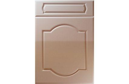 Unique Denham High Gloss Cappuccino kitchen door
