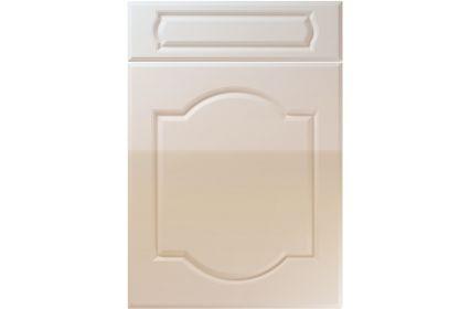 Unique Denham High Gloss Cashmere kitchen door