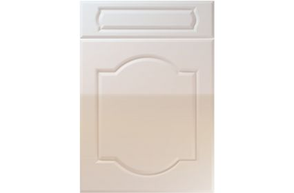 Unique Denham High Gloss Cream kitchen door
