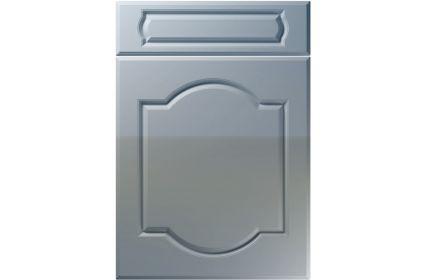 Unique Denham High Gloss Denim kitchen door