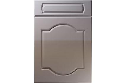 Unique Denham High Gloss Dust Grey kitchen door