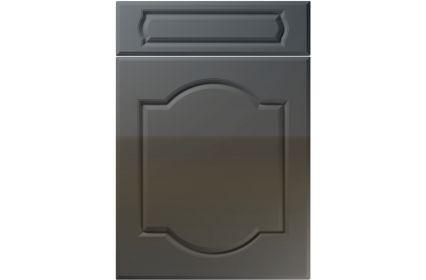 Unique Denham High Gloss Graphite kitchen door