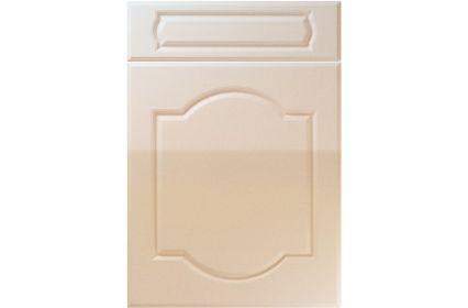 Unique Denham High Gloss Sand Beige kitchen door
