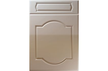 Unique Denham High Gloss Stone Grey kitchen door