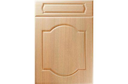 Unique Denham Light Ferrara Oak kitchen door