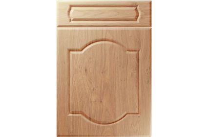 Unique Denham Light Winchester Oak kitchen door