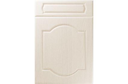 Unique Denham Painted Oak Ivory kitchen door
