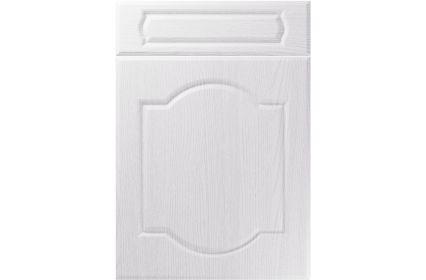 Unique Denham Painted Oak White kitchen door