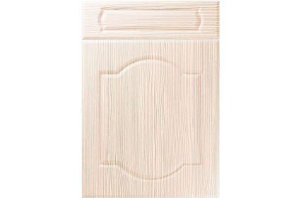 Unique Denham White Avola kitchen door