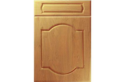 Unique Denham Winchester Oak kitchen door