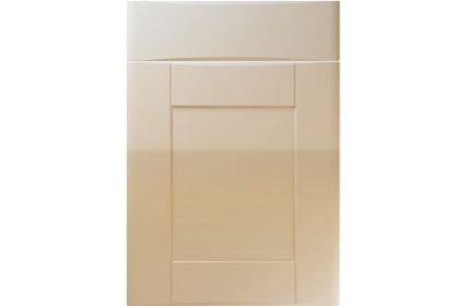 Unique Denver High Gloss Dakar kitchen door
