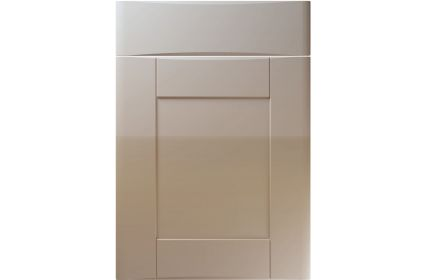 Unique Denver High Gloss Stone Grey kitchen door