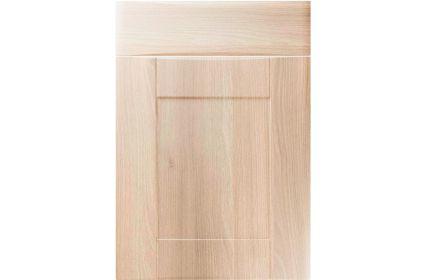 Unique Denver Moldau Acacia kitchen door