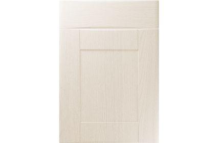 Unique Denver Painted Oak Ivory kitchen door