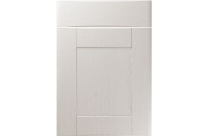 Unique Denver Painted Oak Light Grey kitchen door