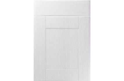 Unique Denver Painted Oak White kitchen door